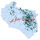 دانلود نقشه جی ای اس تقسیمات سیاسی استان خراسان جنوبی سال 1398