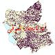 دانلود نقشه جی ای اس تقسیمات سیاسی استان آذربایجان شرقی سال 1398