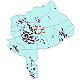 دانلود نقشه جی ای اس تقسیمات سیاسی استان یزد سال 1398