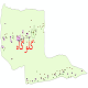 دانلود نقشه شیپ فایل آمار جمعیت نقاط شهری و نقاط روستایی شهرستان گلوگاه از سال 1335 تا 1395