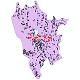 دانلود نقشه شیپ فایل آمار جمعیت نقاط شهری و نقاط روستایی شهرستان بروجرد از سال 1335 تا 1395