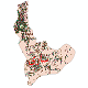 دانلود نقشه شیپ فایل آمار جمعیت نقاط شهری و نقاط روستایی شهرستان ساری از سال 1335 تا 1395