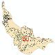 دانلود نقشه شیپ فایل آمار جمعیت نقاط شهری و نقاط روستایی شهرستان نکا از سال 1335 تا 1395