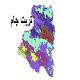 شیپ فایل کاربری اراضی شهرستان تربت جام