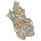 دانلود نقشه شیپ فایل اقلیمی استان فارس