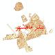 دانلود نقشه شیپ فایل شبکه معابر شهر بندر ماهشهر سال 1399