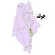 شیپ فایل شبکه راههای شهرستان جیرفت 1399