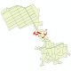 دانلود نقشه شیپ فایل شبکه معابر شهر نرجه سال 1399