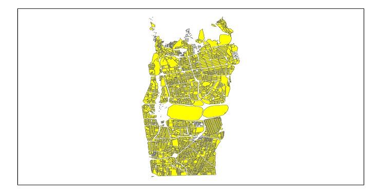 دانلود شیپ فایل بلوک آماری سال 1395 منطقه 2 شهر تهران