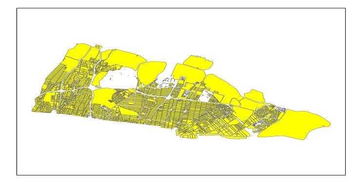 دانلود شیپ فایل بلوک آماری سال 1395 منطقه 4 شهر تهران