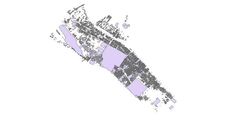 دانلود شیپ فایل بلوک های آماری شهر آبادان
