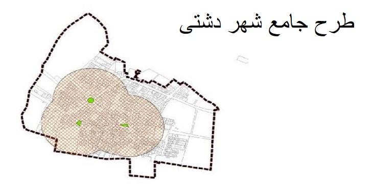 دانلود طرح جامع شهر دشتی سال 1396