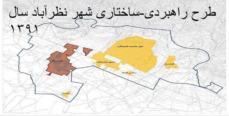 دانلود طرح جامع شهر نظرآباد سال 1391