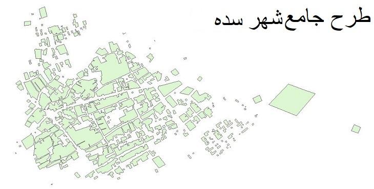 دانلود طرح جامع شهر سده سال 1391