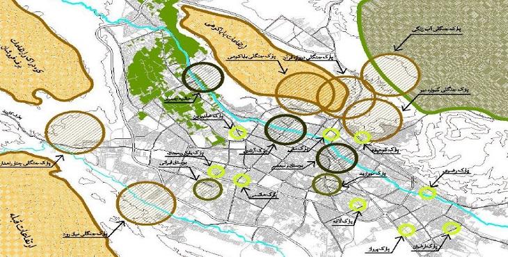 دانلود طرح تفصیلی شهر شیراز به همراه بازنگری آن سال 1385