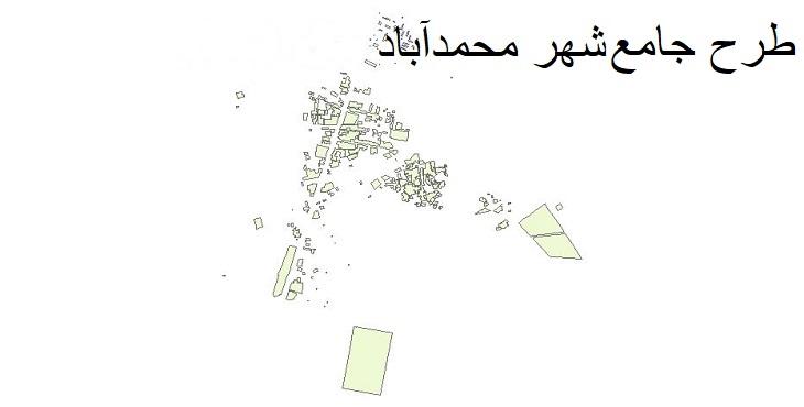 دانلود طرح جامع شهر محمد آباد