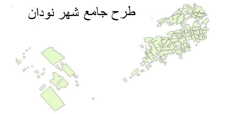 دانلود طرح جامع-تفصیلی شهر نودان سال 1393