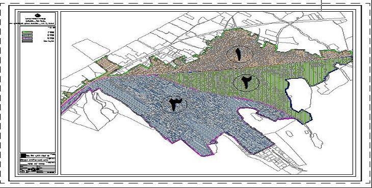 دانلود فایل اتوکد شهر ایلخچی (2) سال 1390