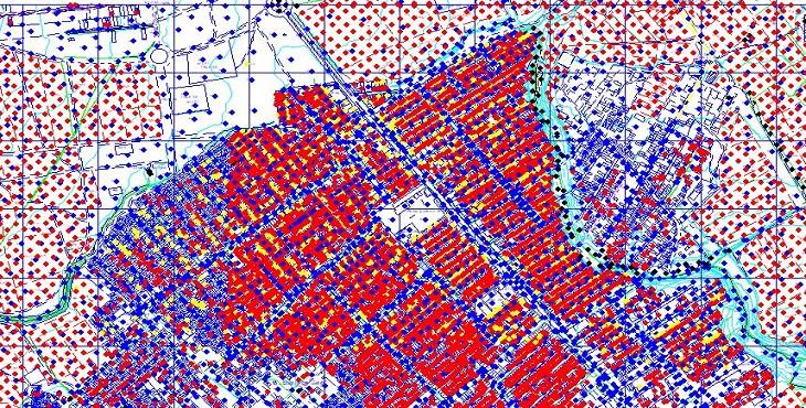 دانلود فایل اتوکد شهر صالح آباد