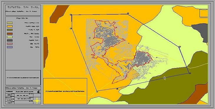 نقشه اتوکد شهر گیوی
