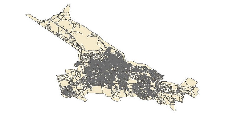 دانلود شیپ فایل کاربری اراضی شهر تبریز سال 1395