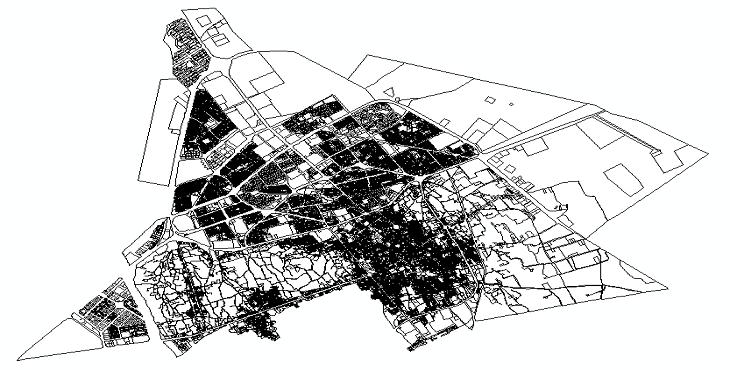 دانلود نقشه اتوکد شهر سمنان