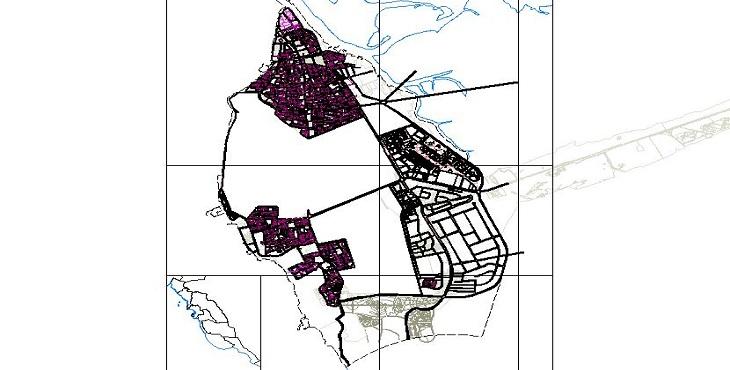 دانلود فایل اتوکد شهر بوشهر