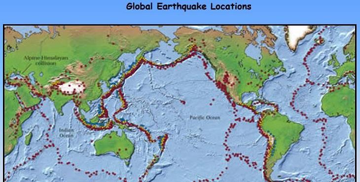 دانلود پاورپوینت کاربرد سیستم اطلاعات جغرافیایی در مسائل زلزله