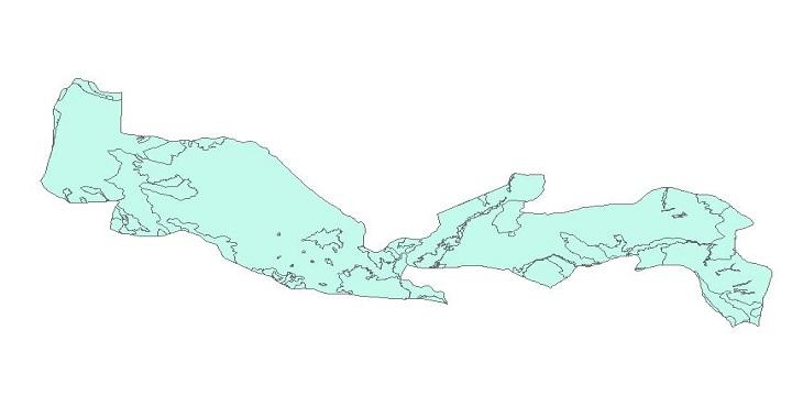 دانلود شیپ فایل نقشه های طبیعی شهرستان میاندوآب