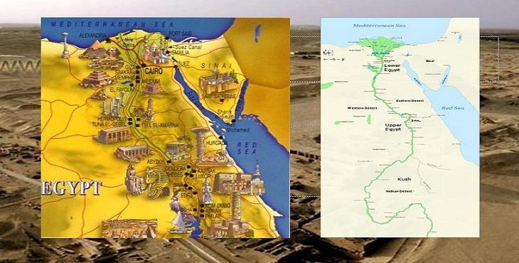 دانلود پاورپوینت تاریخ معماری مصر