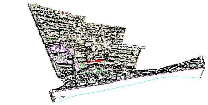 دانلود نقشه اتوکد طرح تفصیلی منطقه 3 شهر اصفهان