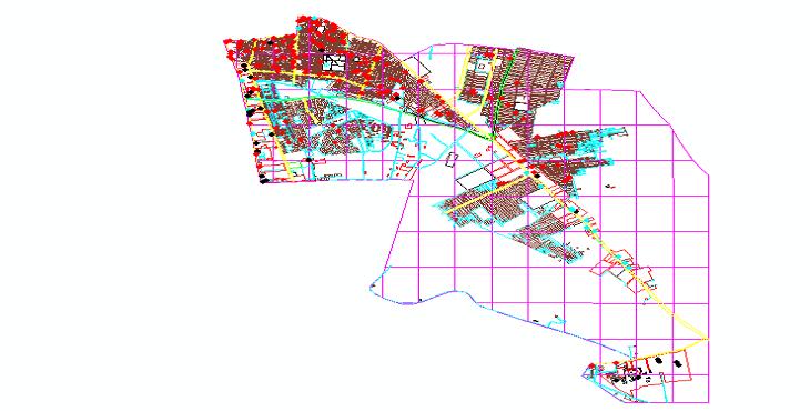 دانلود نقشه اتوکد منطقه 15 تهران