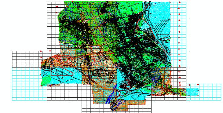 دانلود نقشه اتوکد شهر ماهان
