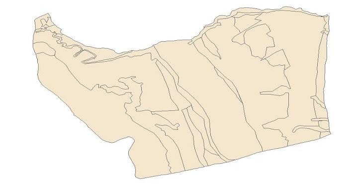 دانلود شیپ فایل نقشه های طبیعی آستارا