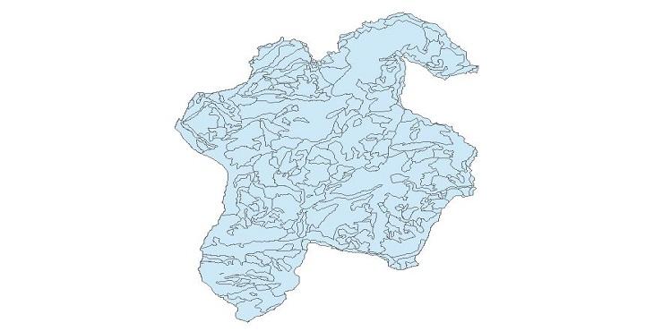 دانلود نقشه شپپ فایل تیپ جنگلی ارسباران