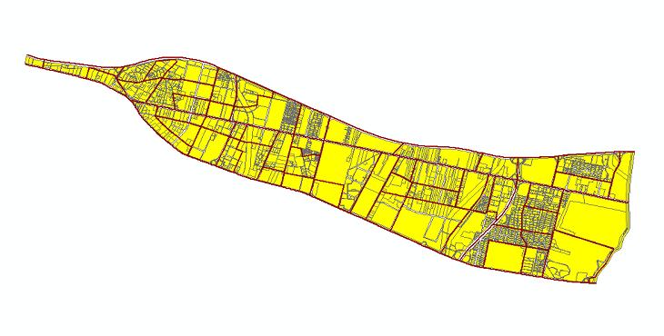 دانلود شیپ فایلهای طرح تفصیلی منطقه 21 شهر تهران