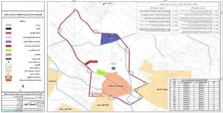 دانلود ضوابط و مقررات طرح جامع شهر گلدشت