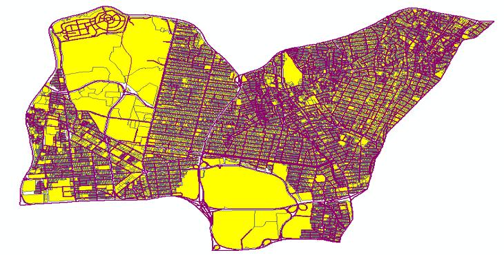 دانلود شیپ فایلهای طرح تفصیلی منطقه 3 شهر تهران