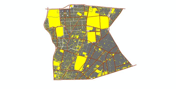دانلود شیپ فایلهای طرح تفصیلی منطقه 7 شهر تهران