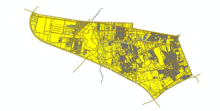 دانلود شیپ فایلهای طرح تفصیلی منطقه 18 شهر تهران