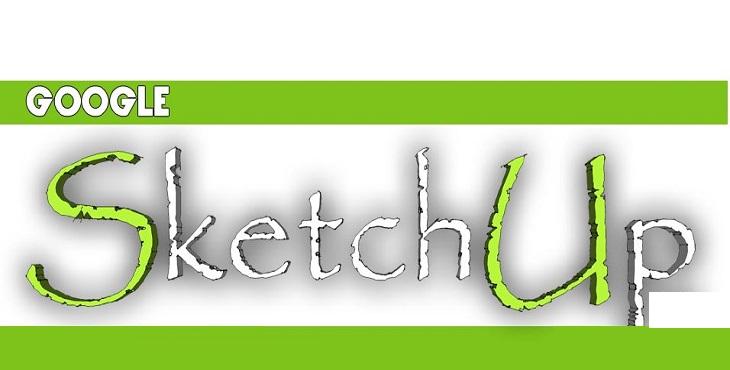 دانلود آموزش نرم افزار اسکچ آپ sketchup