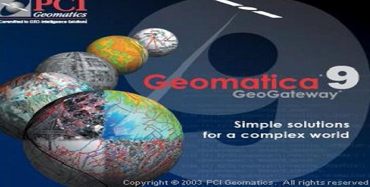 دانلود آموزش نرم افزار پی سی ای ژئوماتیک PCI Geomatica