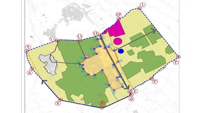 دانلود طرح جامع شهر وزوان سال 1397