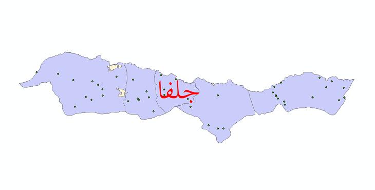دانلود نقشه جی آی اس تقسیمات سیاسی شهرستان چاراویماق سال 1398