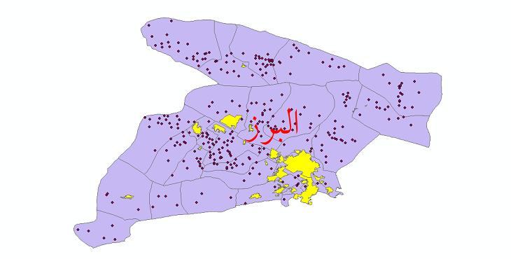 دانلود نقشه جی ای اس تقسیمات سیاسی استان البرز سال 1398