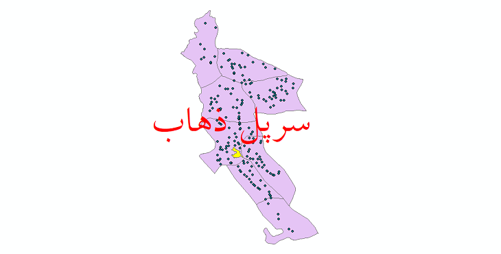 دانلود نقشه جی ای اس تقسیمات سیاسی شهرستان سرپل ذهاب سال 1398