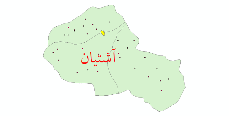 دانلود نقشه جی ای اس تقسیمات سیاسی شهرستان آشتیان سال 1398