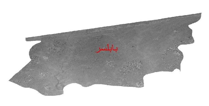 دانلود نقشه دم رقومی ارتفاعی شهرستان بابلسر