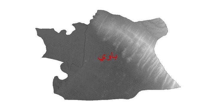 دانلود نقشه دم رقومی ارتفاعی شهرستان باوی