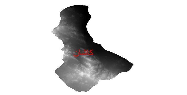 دانلود نقشه دم رقومی ارتفاعی شهرستان کاشان